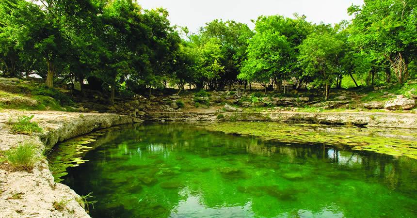 Cenote Xlakah, Dzibilchaltun 1