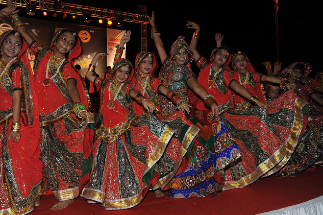Navratri and Garba in Moscow 12