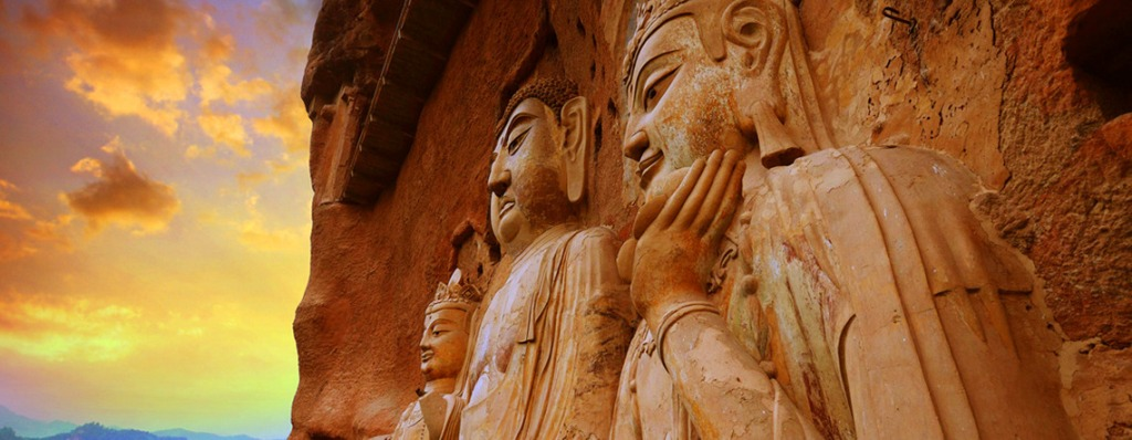 Maijishan Grottoes, Tianshui, Gansu, China