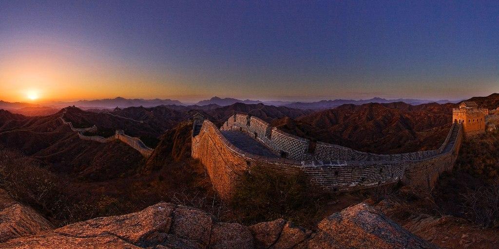 China Great wall Jinshanling Great wall