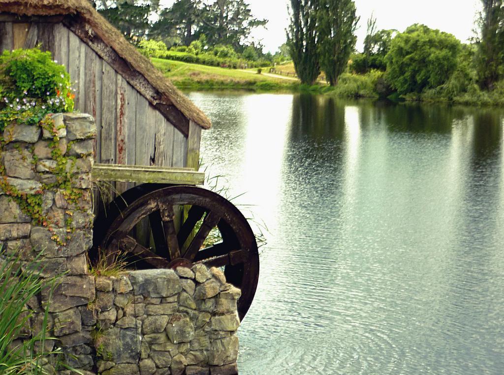 Хоббитон, водяная мельница