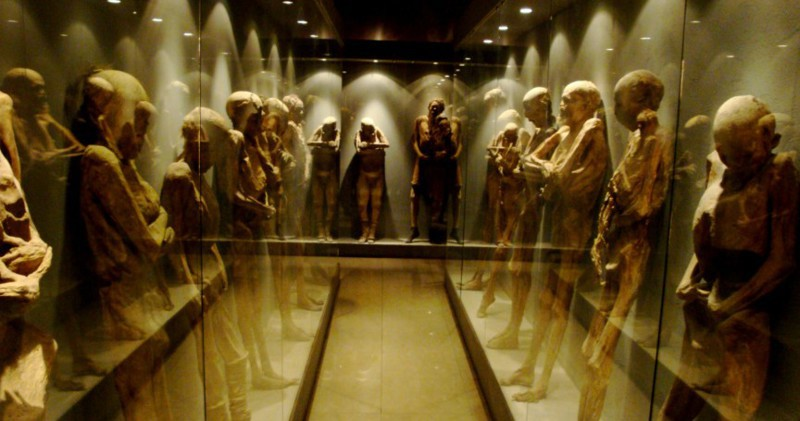 Музей Мумий  (Museum of the Mummies),  Гуанахуато (Guanajuato), Мексика