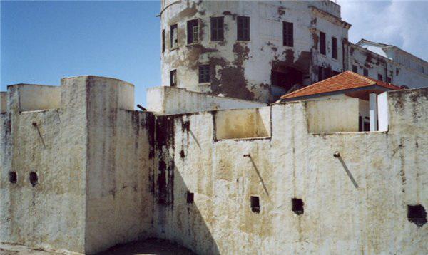 Замок Эльмина.  Кейп Кост. Гана