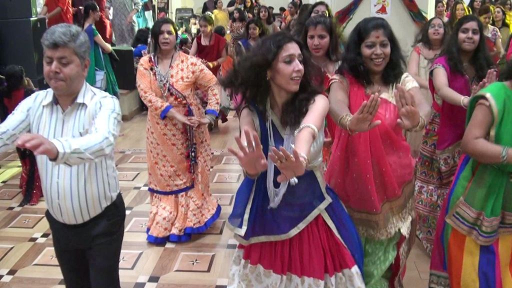 Navratri and Garba in Moscow 3