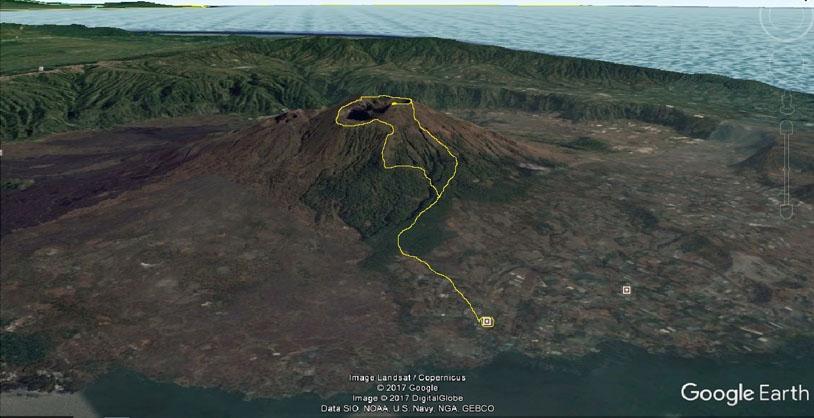 Вулканы и пляжи на островах Суматра, Ява, Бали, Ломбок